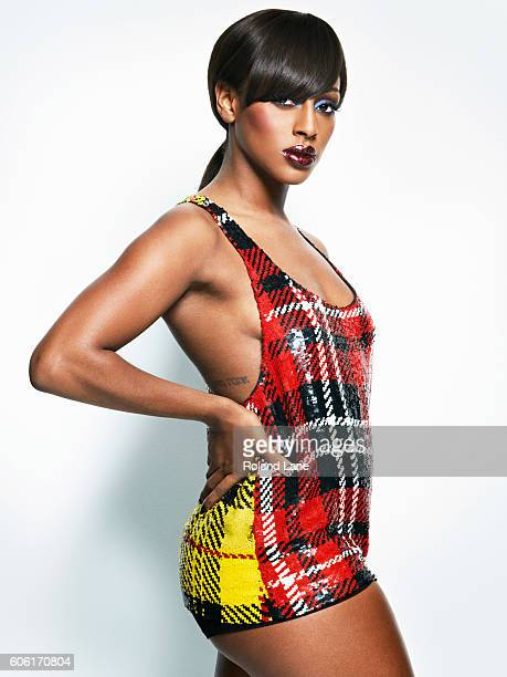 Singer and former xfactor winner Alexandra Burke is photographed on August 23 2011 in London England