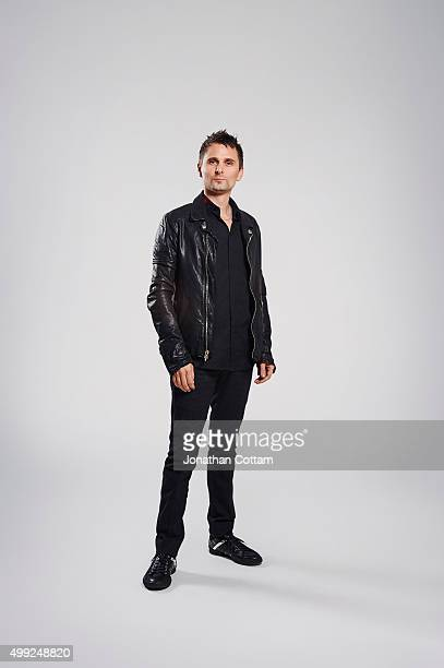 Singer and guitarist Matt Bellamy of rock band Muse is photographed on October 25 2009 in London England