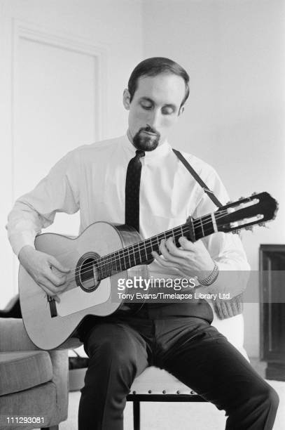 Singer and guitarist Paul Stookey of folk trio Peter Paul and Mary 1964
