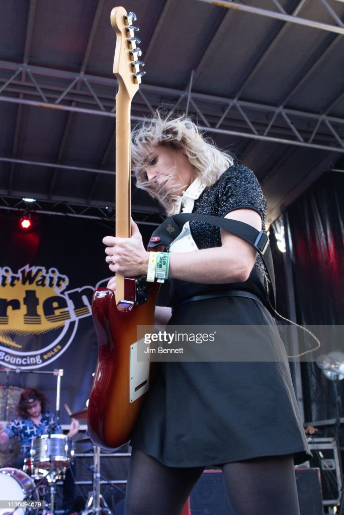 Singer and guitarist Ritzy Bryan of The Joy Formidable
