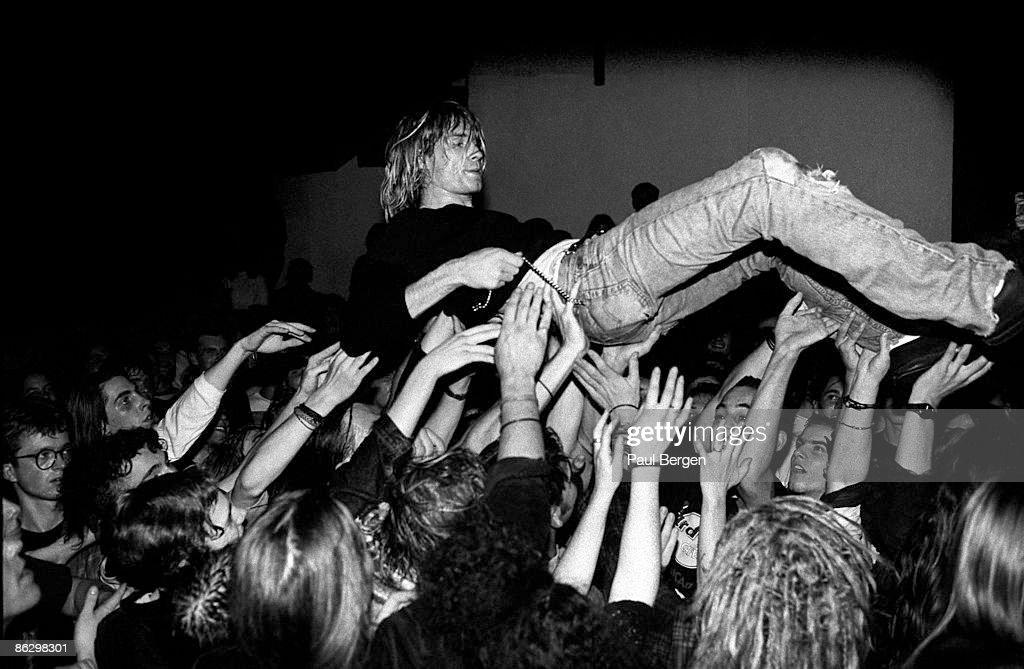 Nirvana Perform Live In Frankfurt : News Photo