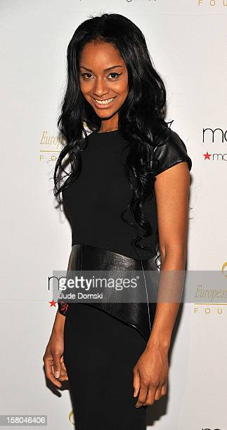 Singer and haprist Rashida Jolley attends the 2012 European School Of Economics Foundation Vision And Reality Awards at Cipriani 42nd Street on...