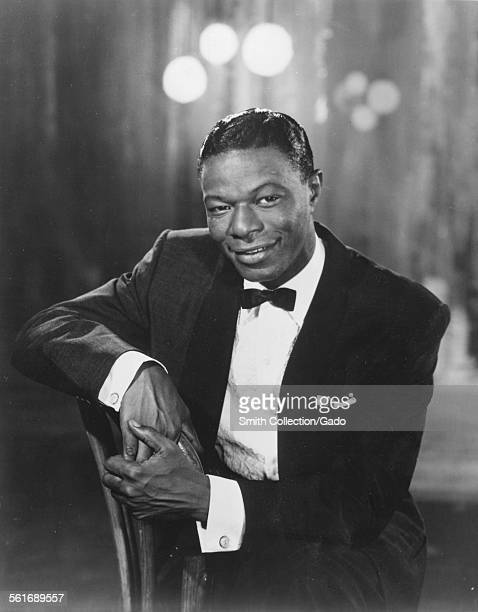 Singer and Jazz musician Nat King Cole 1942