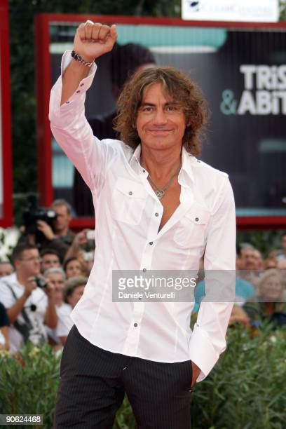 Singer and Jury Member Luciano Ligabue attends the Closing Ceremony Red Carpet And Inside at The Sala Grande during the 66th Venice Film Festival on...