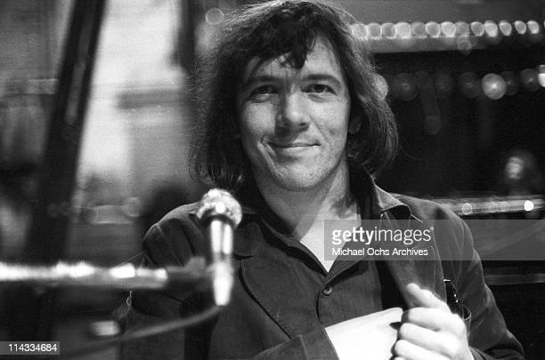 Singer and keyboardist Doug Ingle of the rock and roll band Iron Butterfly performs onstage at the Fillmore East on February 1 1969 in New York City...