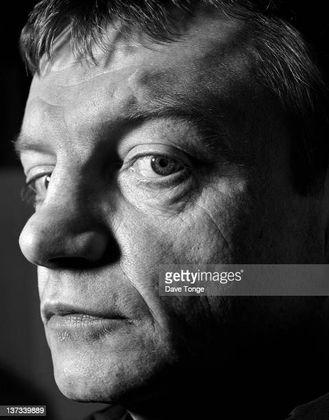Singer and lyricist Mark E Smith of English postpunk group The Fall north London 1998
