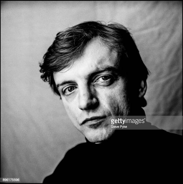Singer and lyricist of The Fall Mark E Smith Manchester 17th October 1987