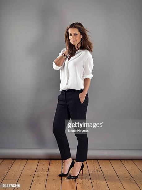 Singer and media personality Louise Redknapp is photographed for Channel 4 on May 17 2013 in London England