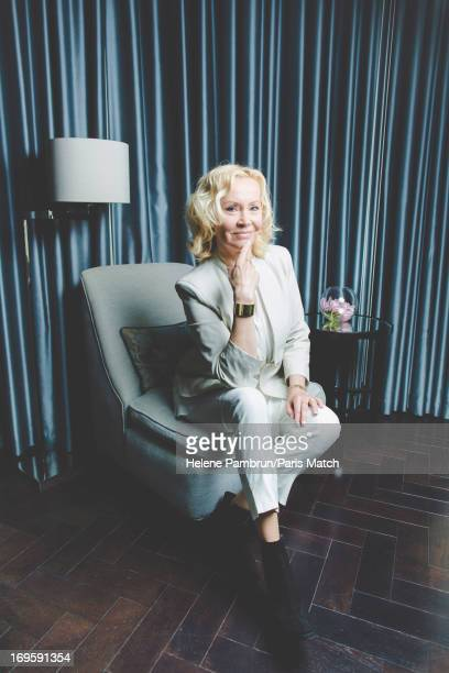 Singer and member of legendary group Abba, Agnetha Faltskog is photographed for Paris Match on April 29, 2013 in London, England.