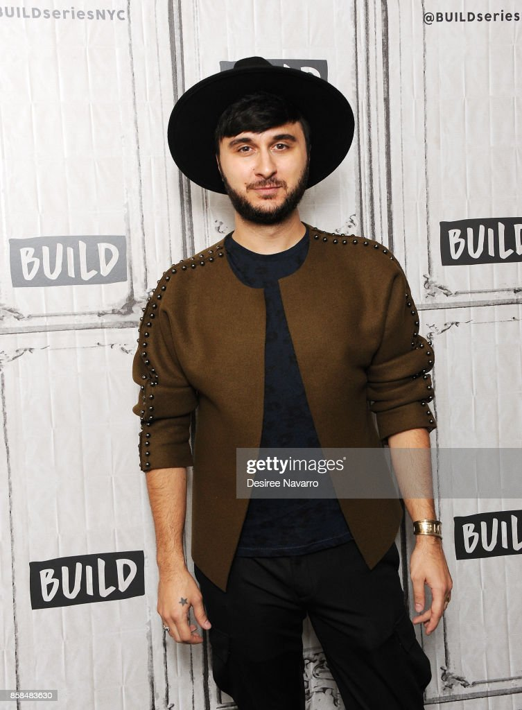 Singer and music producer Brad Walsh visits Build to discuss 'Antiglot' at Build Studio on October 6, 2017 in New York City.