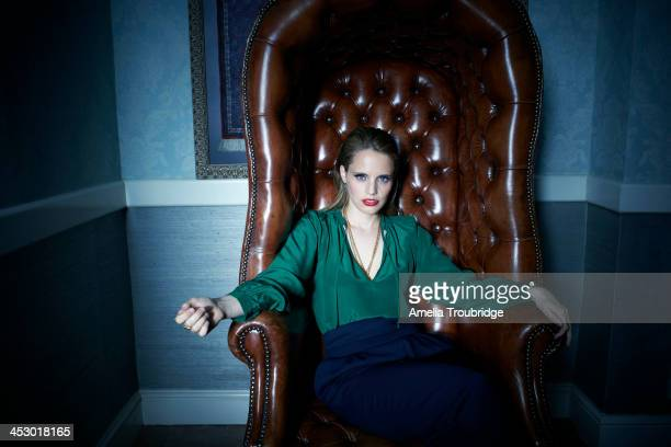 Singer and musician Anna Calvi is photographed for Amica magazine Italy on July 2 2013 in London England