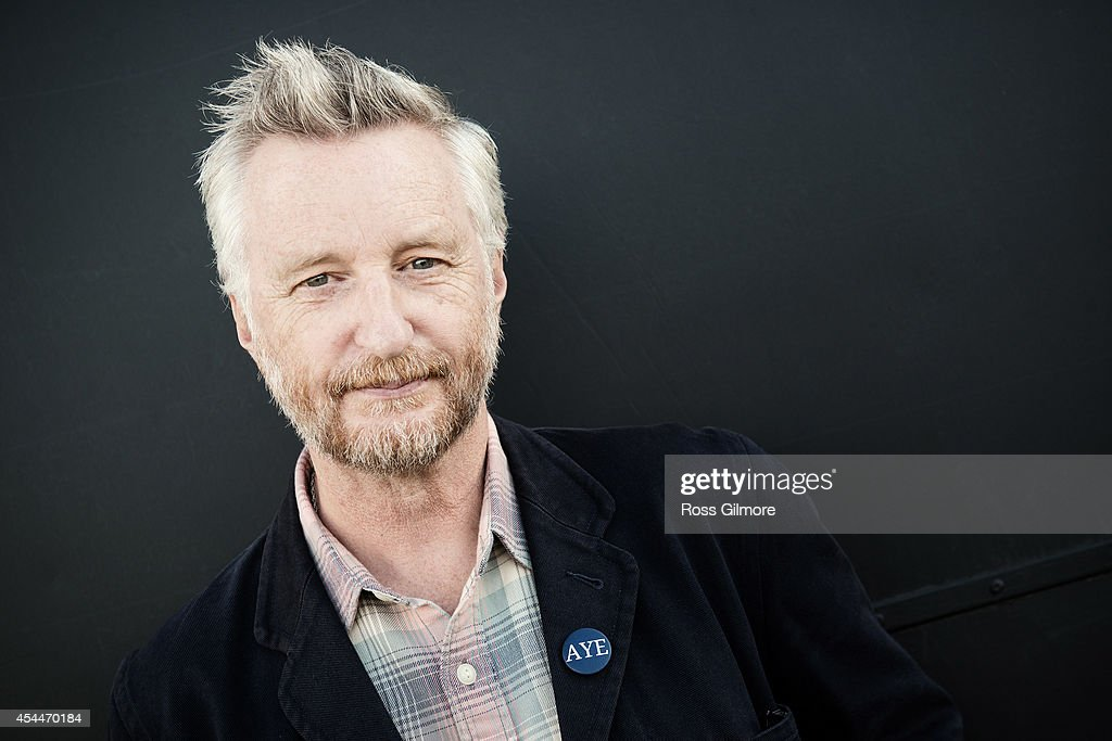 Singer and musician Billy Bragg is photographed on August 9, 2014 in Edinburgh, Scotland.