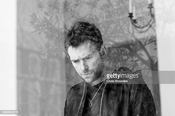 Singer and musician Damon Albarn is photographed for Mr Porter on March 5 2014 in London England