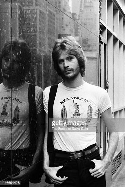 Singer and musician Daryl Hall of the pop and soul duo Hall and Oates poses for a portrait on August 23 1973 in New York City New York