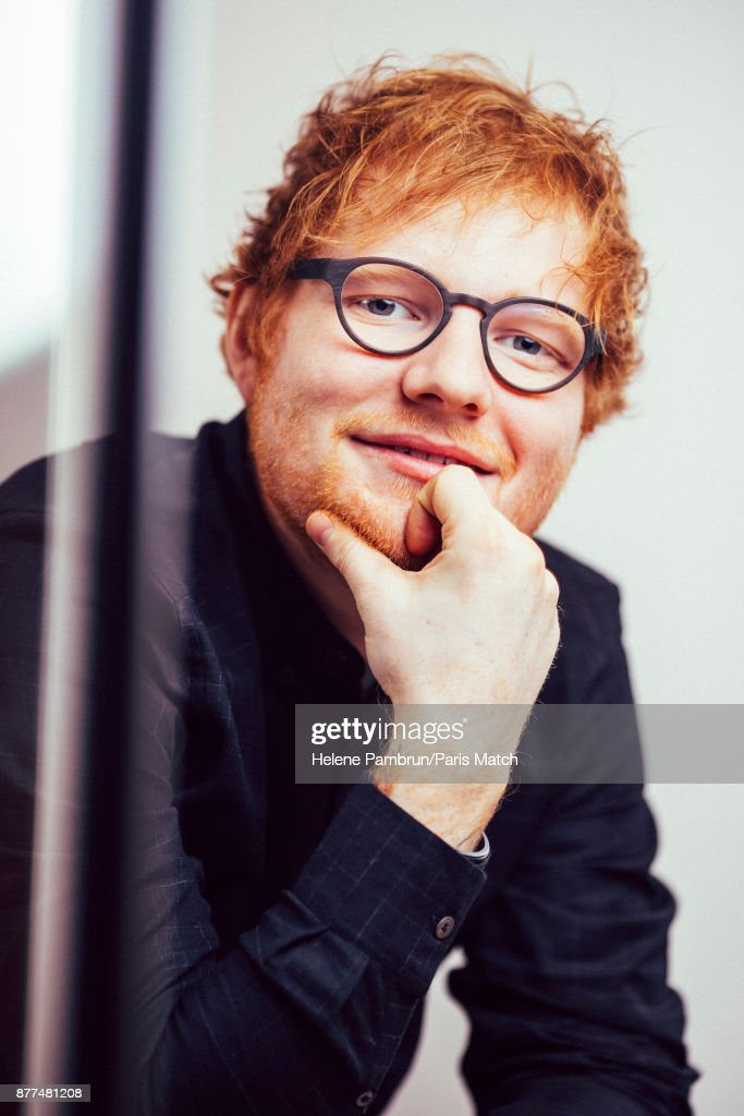 Ed Sheeran, Paris Match Issue 3538, March 15, 2017