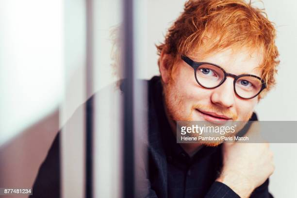 Singer and musician Ed Sheeran is photographed for Paris Match on January 26 2017 in Paris France