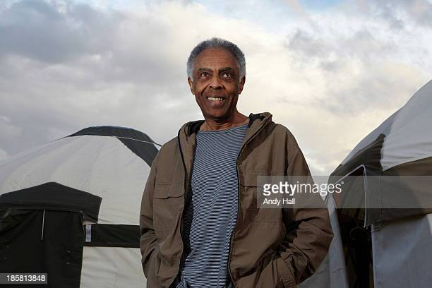 Singer and musician Gilberto gil is photographed for the Observer on July 26 2013 in Carlton England