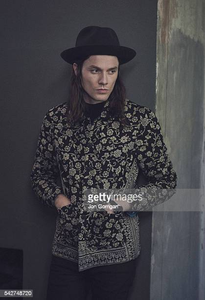Singer and musician James Bay is photographed for ES magazine on October 1 2015 in London England