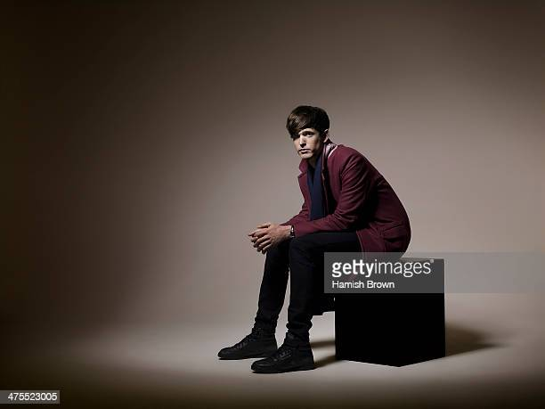 Singer and musician James Blake is photographed for ES magazine on November 19 2013 in London England