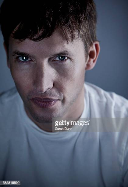 Singer and musician James Blunt is photographed for Red magazine on September 10 2013 in London England