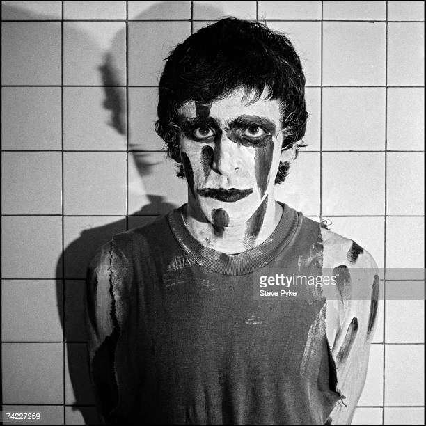Singer and musician Jaz Coleman of English postpunk rock band Killing Joke at Durham University 27th March 1983