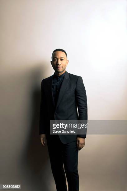Singer and musician John Legend is photographed for Emmy magazine on January 13 2017 in Los Angeles California