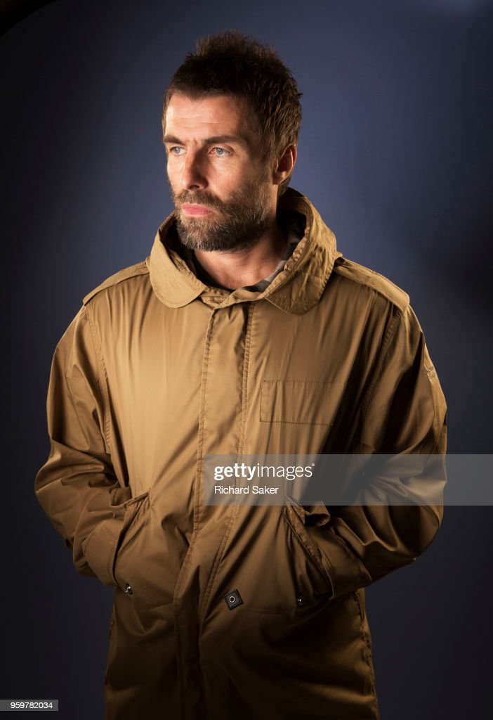 Singer and musician Liam Gallagher is photographed for the Guardian on February 8, 2018 in London, England.
