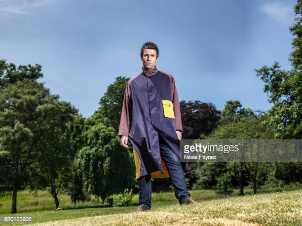 Singer and musician Liam Gallagher is photographed for the Times on June 19 2017 in London England