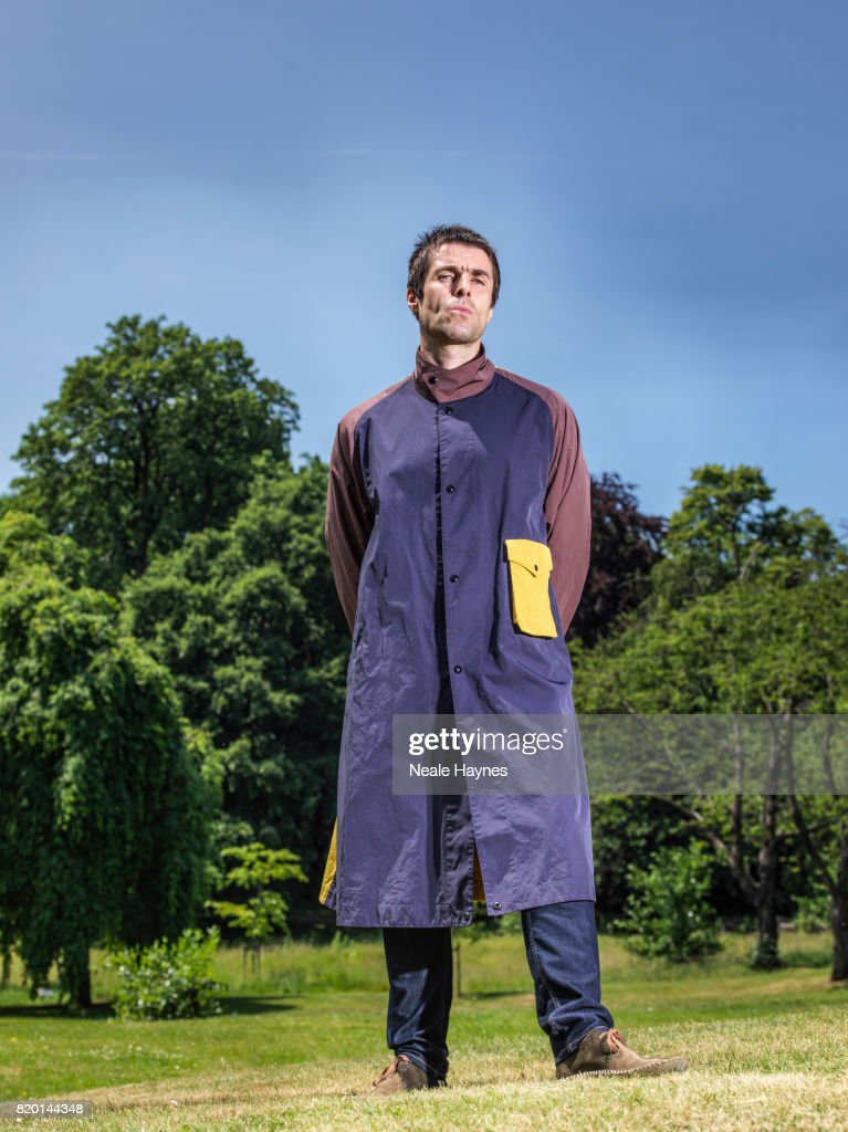 Singer and musician Liam Gallagher is photographed for the Times on June 24, 2017 in London, England.