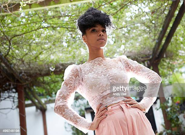 Singer and musician Lianne La Havas is photographed for the Observer on May 13 2014 in London England