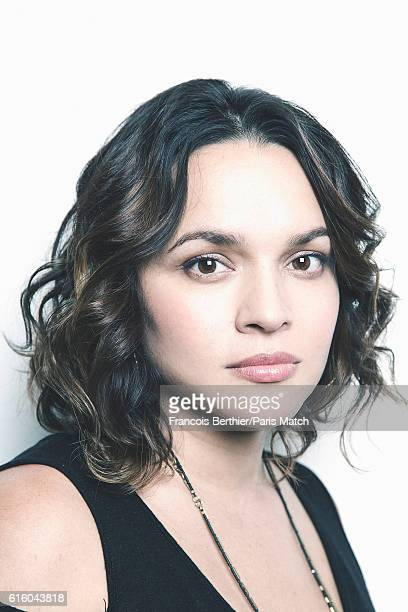 Singer and musician Norah Jones is photographed for Paris Match on October 19 2016 in Paris France