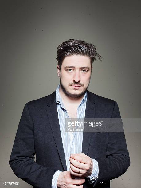Singer and musician of Marcus Mumford of folk rock band Mumford Sons are photographed for Time Out on April 11 2013 in London England
