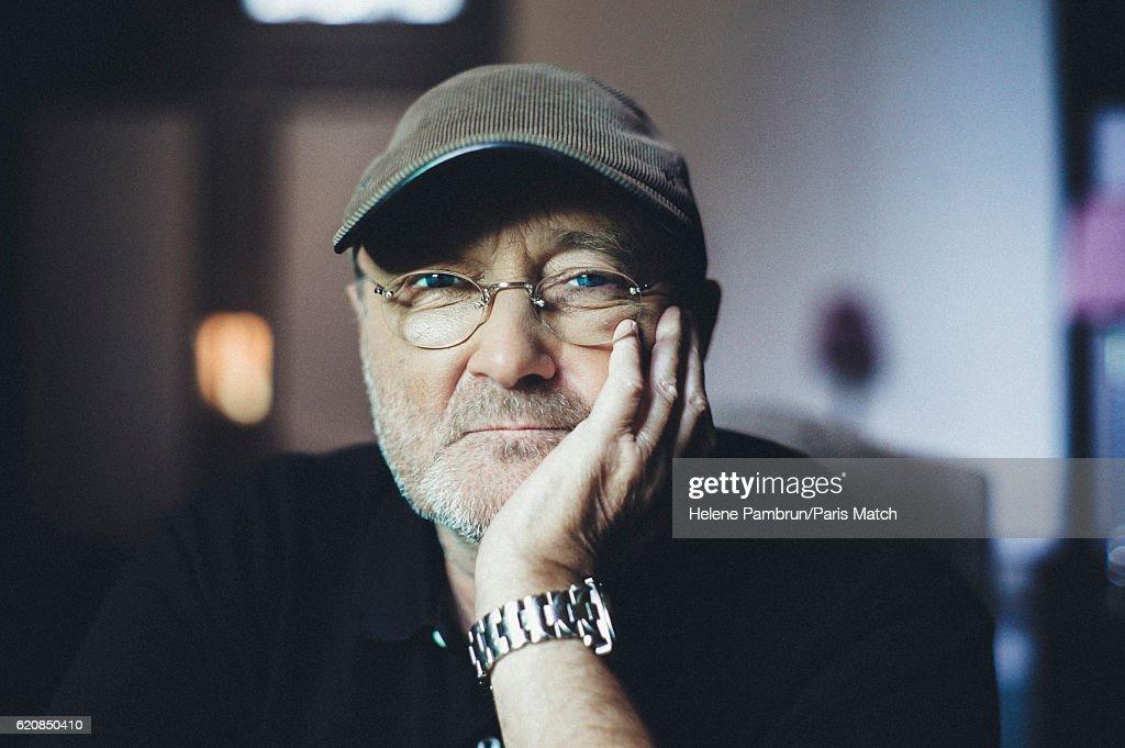 Phil Collins, Paris Match Issue 3519, November 2, 2016