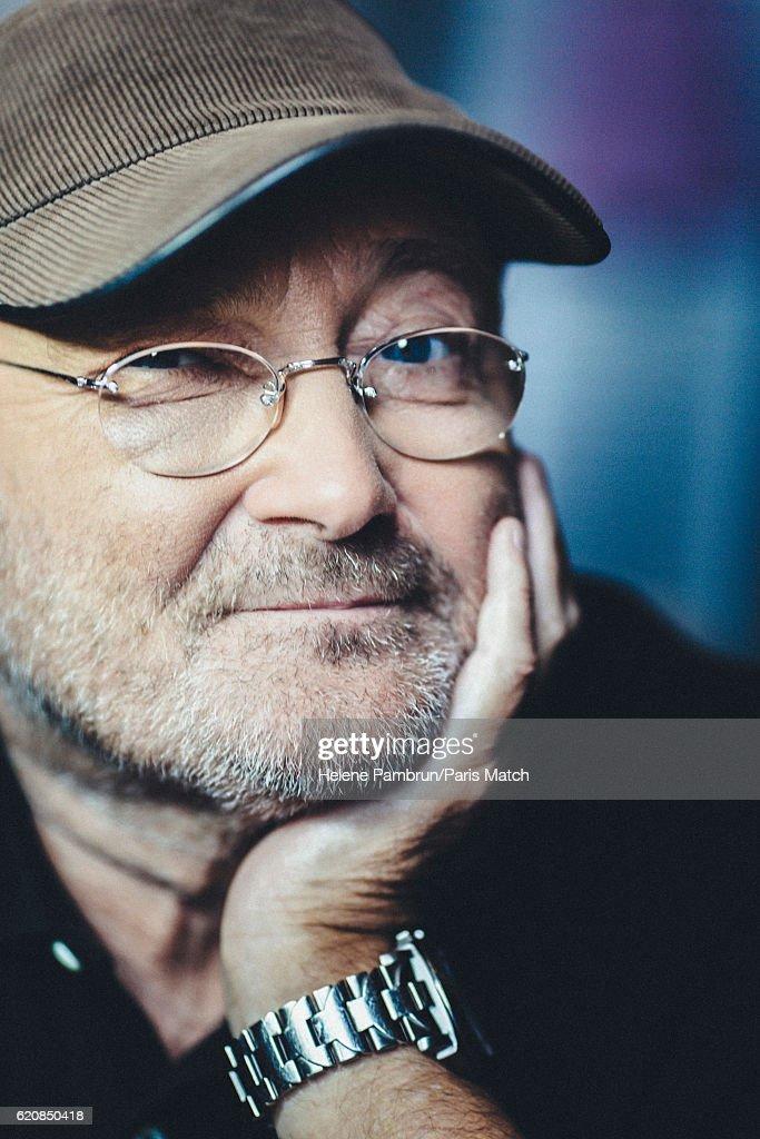 Phil Collins, Paris Match Issue 3519, November 2, 2016 : News Photo