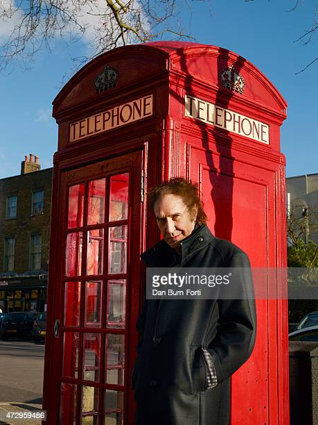 Singer and musician Ray Davies is photographed for Esquire on February 24, 2014 in London, England.