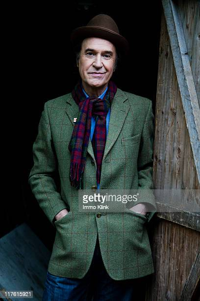 Singer and musician Ray Davies is photographed for the Independent on October 14, 2010 in London, England.
