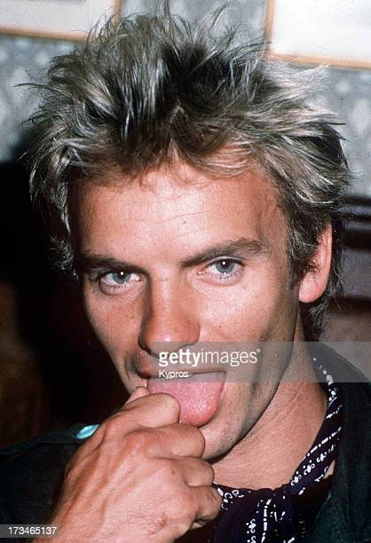 Singer and musician Sting circa 1990
