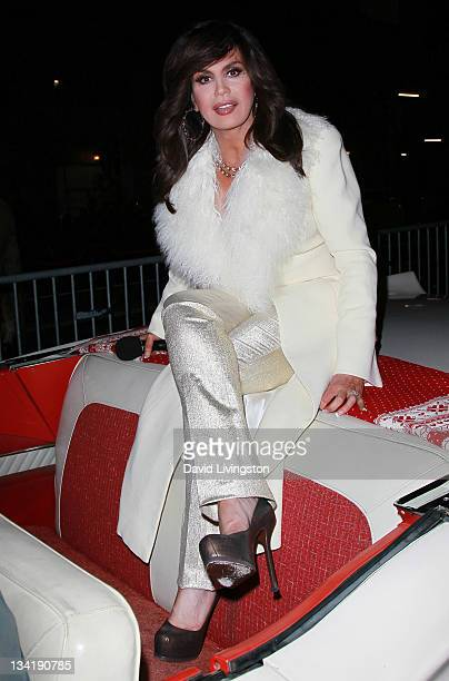 Singer and parade Grand Marshal Marie Osmond attends the 80th anniversary Hollywood Christmas Parade benefiting Marine Toys for Tots on November 27...