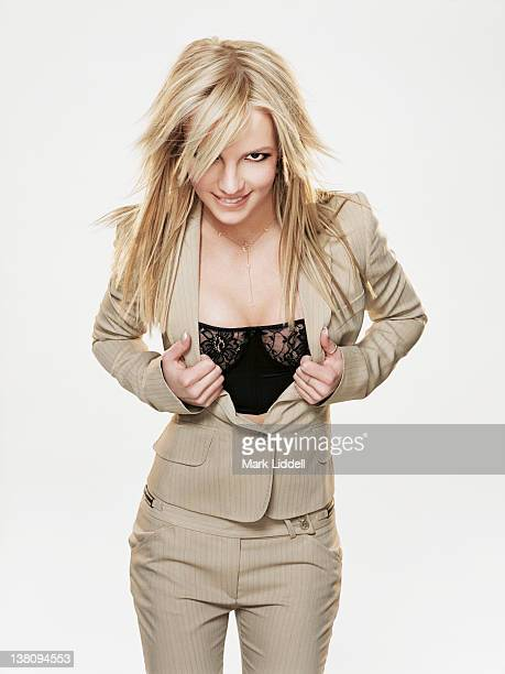Singer and performer Britney Spears is photographed for Press Shoot on March 1 2002 in Los Angeles California