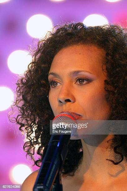 Singer and Popstars jury member Angie appears on the television show Vivement Dimanche whose featured guest is Michèle AlliotMarie the French Defence...