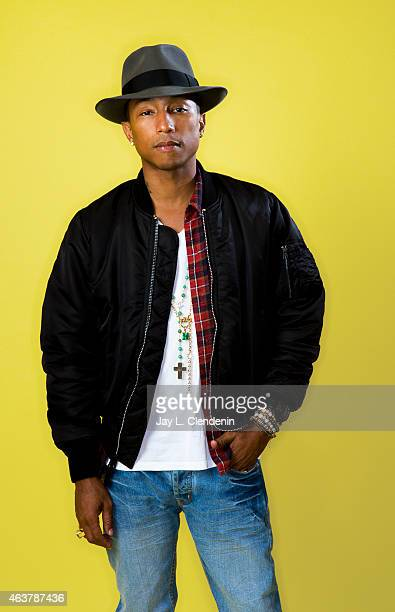 Singer and producer Pharrell Williams is photographed for Los Angeles Times on October 22 2013 in Los Angeles California PUBLISHED IMAGE CREDIT MUST...