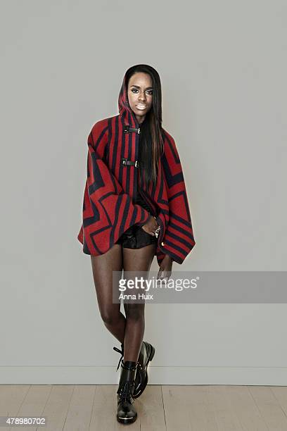 Singer and rapper Angel Haze is photographed for the Telegraph on April 30 2013 in London England