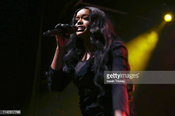 Singer and rapper Azealia Banks performs during Canadian Music Week 2019 at The Phoenix Concert Theatre on May 8 2019 in Toronto Canada