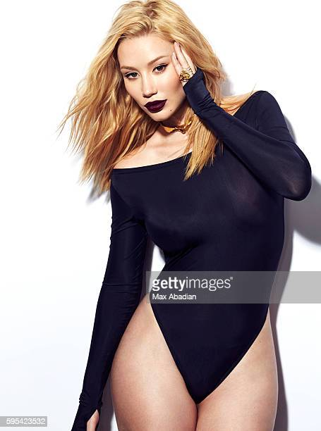 Singer and rapper Iggy Azalea is photographed for Elle Canada on February 2 2016 in Los Angeles California Published Image