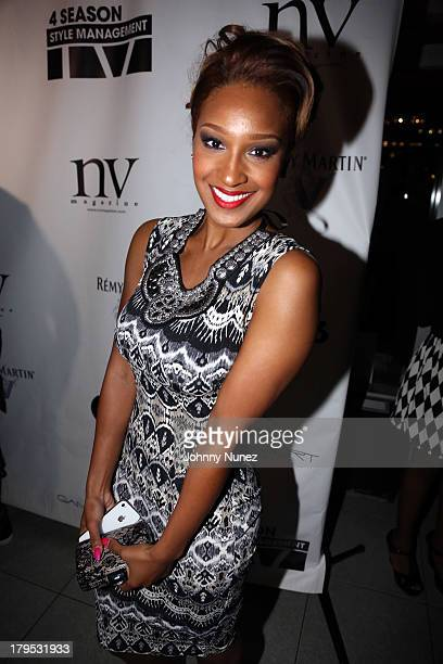 Singer and reality TV personality Olivia attends Fashion Night In Pop Night In Pop Up Style Review at Gansevoort Hotel on September 4 2013 in New...