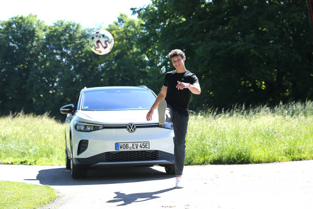 DEU: Wincent Weiss Prior To The EM Soccer Match Germany/ France For Volkswagen In Munich