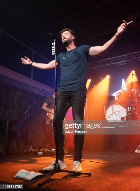 Singer and songwriter Adam Doleac performs at The Back Corner on June 17 2019 in Nashville Tennessee