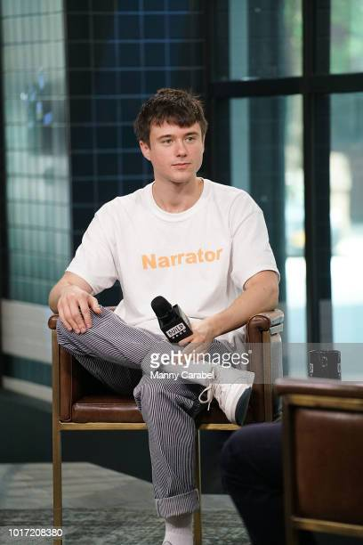 Singer and songwriter Alec Benjamin visits Build Series to discuss his music and upcoming tour at Build Studio on August 15 2018 in New York City