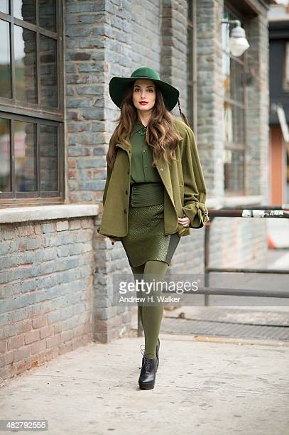Singer and songwriter Alexa Ray Joel is photographed for Resident Magazine on November 12 2013 in New York City