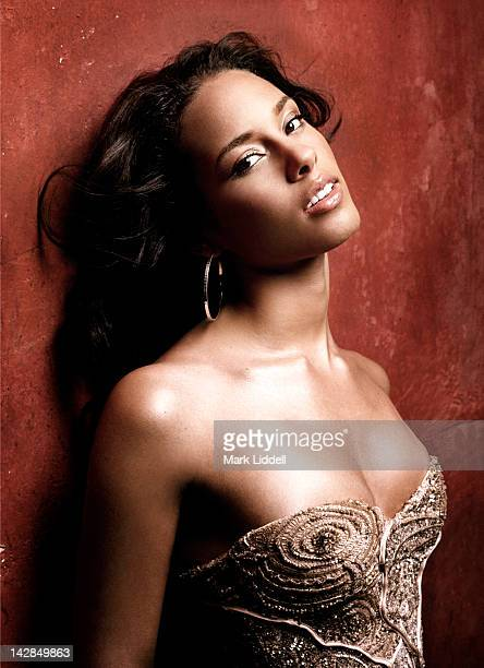 Singer and Songwriter Alicia Keys is photographed for Essence Magazine on February 1 2005 in Los Angeles California